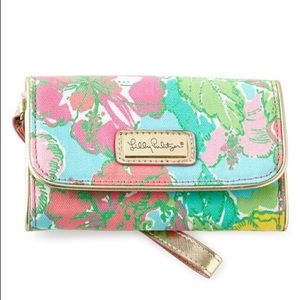 Lilly Pulitzer Phone Wristlet